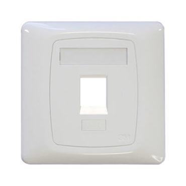 keystone-rj45-faceplate-white-single-gang-single-port-86x86